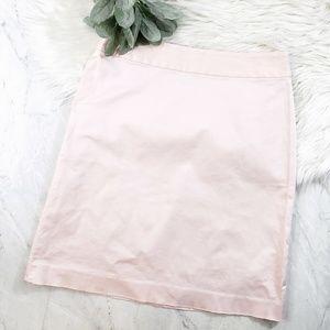 Banana Republic Blush Pink Stretch A Line Skirt